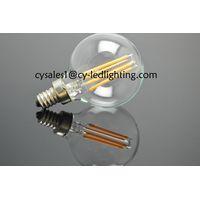 Small global bulb G50 filament led bulb 5W E14 string light bulb