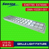 2X18W fluorescent louver lighitng fixture,Recessed mounted T8 louver lamp thumbnail image