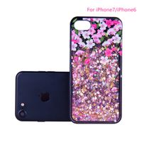 Luxury electroplating mirror tpu pc cell phone cases cover for apple iphone 7 plus 6 6s thumbnail image