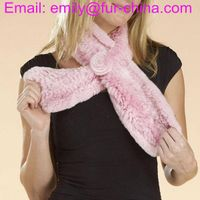 Ladies Rabbit Fur Scarf