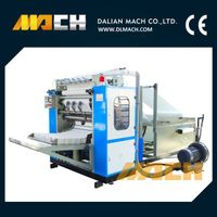 Automatic Box and Bag Drawing Type V Fold Facial Tissue Making Machine