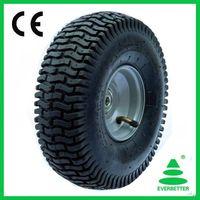 Pneumatic Rubber Wheel 15X6.50-6