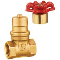 China manufacturer good quality SABS WARS UPC NSF approved J1013 Brass Magnetic Lockable Gate Valve