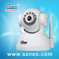 Mini IR nightvision wifi p2p plug and play ip camera