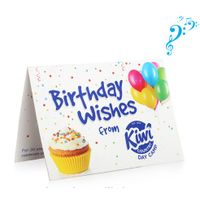 Personalized Music Full Color Printing Greeting Card