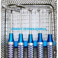 Soft Brushing Kit of 5 PCS, Dental Implant Instrument Lingual Flaps Surgery Set