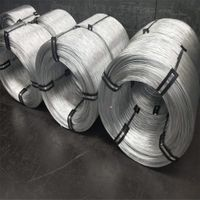 high quality low price zinc coated hot dipped galvanized Steel wire thumbnail image