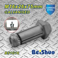 Made in China Anchor Bolt M16X26X75mm galvanized screw anchor bolt thumbnail image