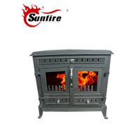 Double Door Wood Stove, Antique Wood Heater