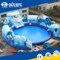 commercial Inflatable Aqua Park, water park games