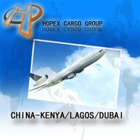 Guanzhou to Kenya air cargo