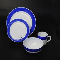 Manufacturers price chinese Italy star year brilliant snifter opal glass ceramic dish dinnerware set