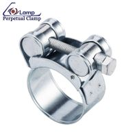 Heavy Duty Stainless Steel Super Power Unitary Hose Clamp