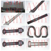 track fasteners manufacturer from china