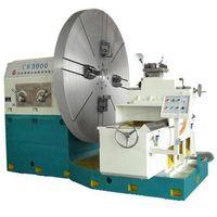 China Good Quality Flange Tire Mold Turning End Face Facing Lathe Machine Price thumbnail image