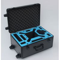 Black Trolley DJI Phantom 3 Aluminum Hard Foam Storage Case With Wheels