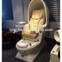 Good design White egg shaped massage hot sale pedicure spa chair
