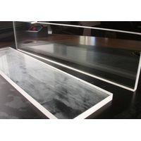 Polished quartz window