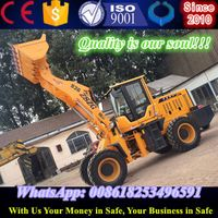 Extended arm loader ZL936 articulate mini wheel loader