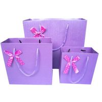 Competitive Price Gift Paper Bag With Window Make In China