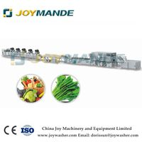 Industrial Vegetable And Fruit Washing And Drying Line Salad Vegetable Processing Line