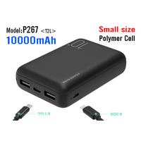 large capacity portable 10000mah power bank