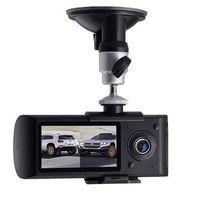 Car Black Box DVR with Dual Camera Lens and GPS Logger(DVR-28B)