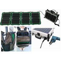 Back pack solar kit