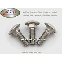 SGS Apprvoed Stainless Steel Carriage Bolt(HSS-003)/DIN603 thumbnail image