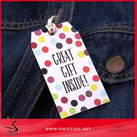 High Quality Paper Hang Tag Clothing Hangtag for Apparel