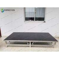 fashion show decoration stair portable removable lightweight stage platform thumbnail image