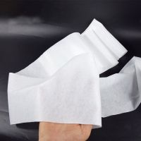 viscose polyester blended spunlace nonwoven fabric rolls plain design for producing wipes