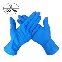 Disposable Blue Nitrile Glove Powder Free Medical Grade thumbnail image