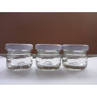 mini glass jar for honey or jam