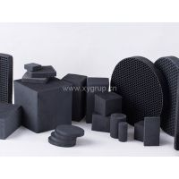 Honeycomb activated carbon filled with kinds of activated carbon as required