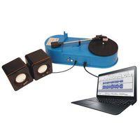 Vinyl turntable to MP3 converter through PC