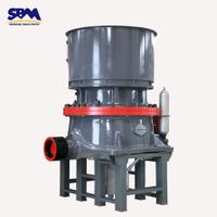 HCS90 type cone crusher with high-efficiency