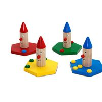 DIY Clown Ring Toss Game/Wooden Edcuational Toy thumbnail image