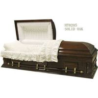 wooden Casket & Coffin for the Funeral (HT-0205)