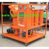 Portable Vacuum Transformer Oil Filter Machine Price