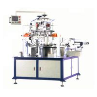 SR2-200HFC Automatic 1-color two surfaces or 2-color one surface screen printing machine