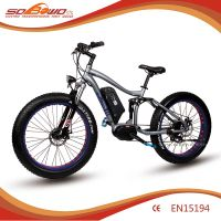 Electric Bike SOBOWO S29-2 250W Mid Motor