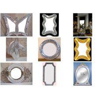 resin mosaic mirror frame