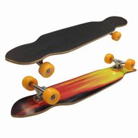 """40""""x9.5""""double kicktail maple Longboard Complete thumbnail image"""
