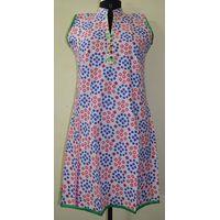 Ethnic-Indian-designer-Cotton-Printed-Kurta-Top-Top Tunic Bust 38 Design thumbnail image