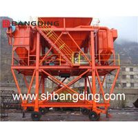 Rubber Tyre Moving Type Port Dust-Collector Hopper For Cargo Unloading Mobile