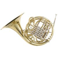 French horn gold lacquer Yellow brass material