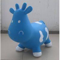 kids eco-friendly toy cartoon jumping animal
