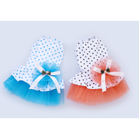 PET Clothes Dress Polka Dot Skirt Dog Clothes Cat Princess Skirt