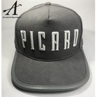 High Quality 5 Panel Custom Snapback Caps with Letter Embroidery